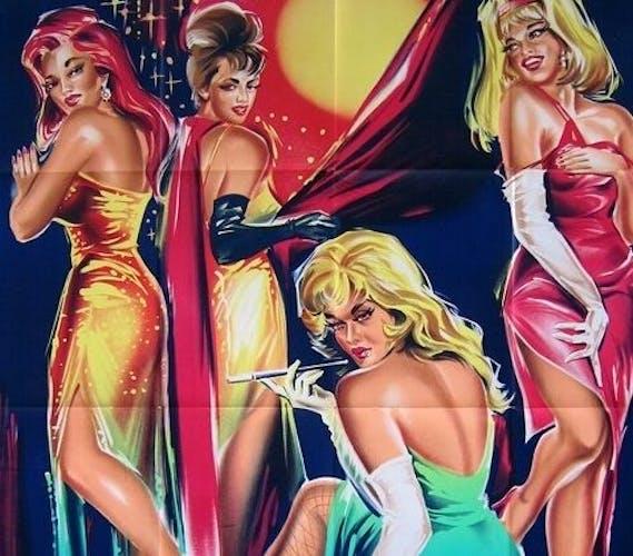 Affiche cinéma originale 1964 univers interdit affiche 120x160 cm