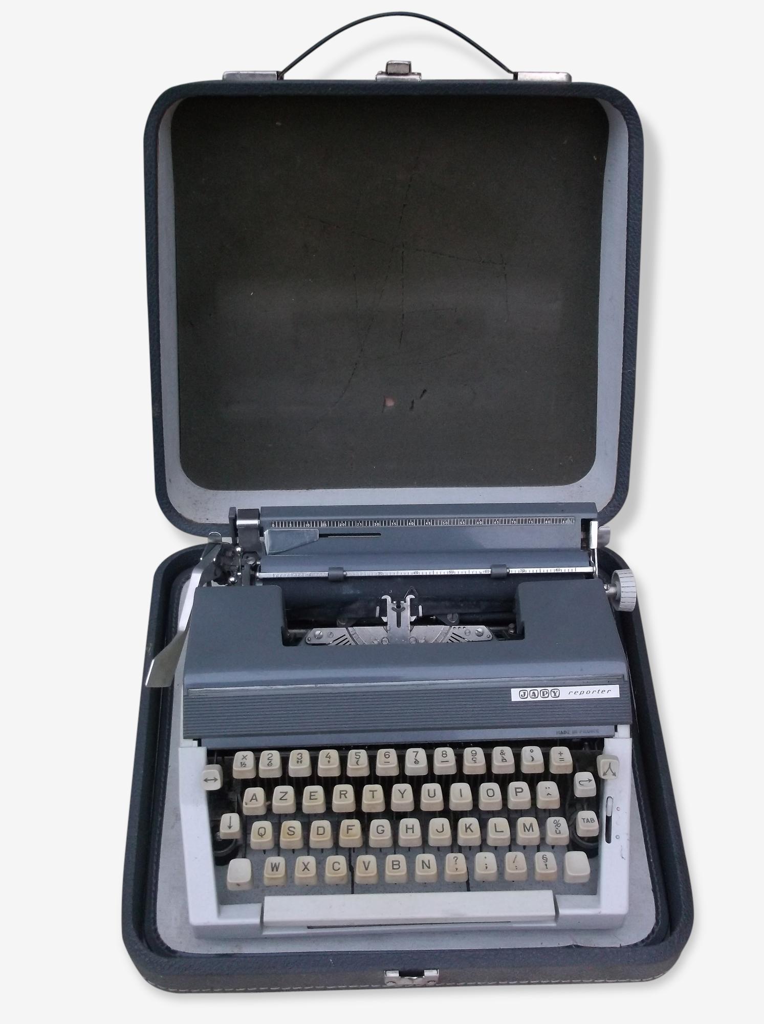 Machine à écrire Japy reporter