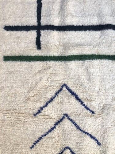 Contemporary Moroccan Berber carpet Azilal 25x1.55m