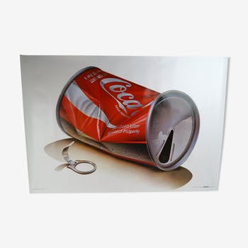 Coca-Cola poster Tom Lidell 1981