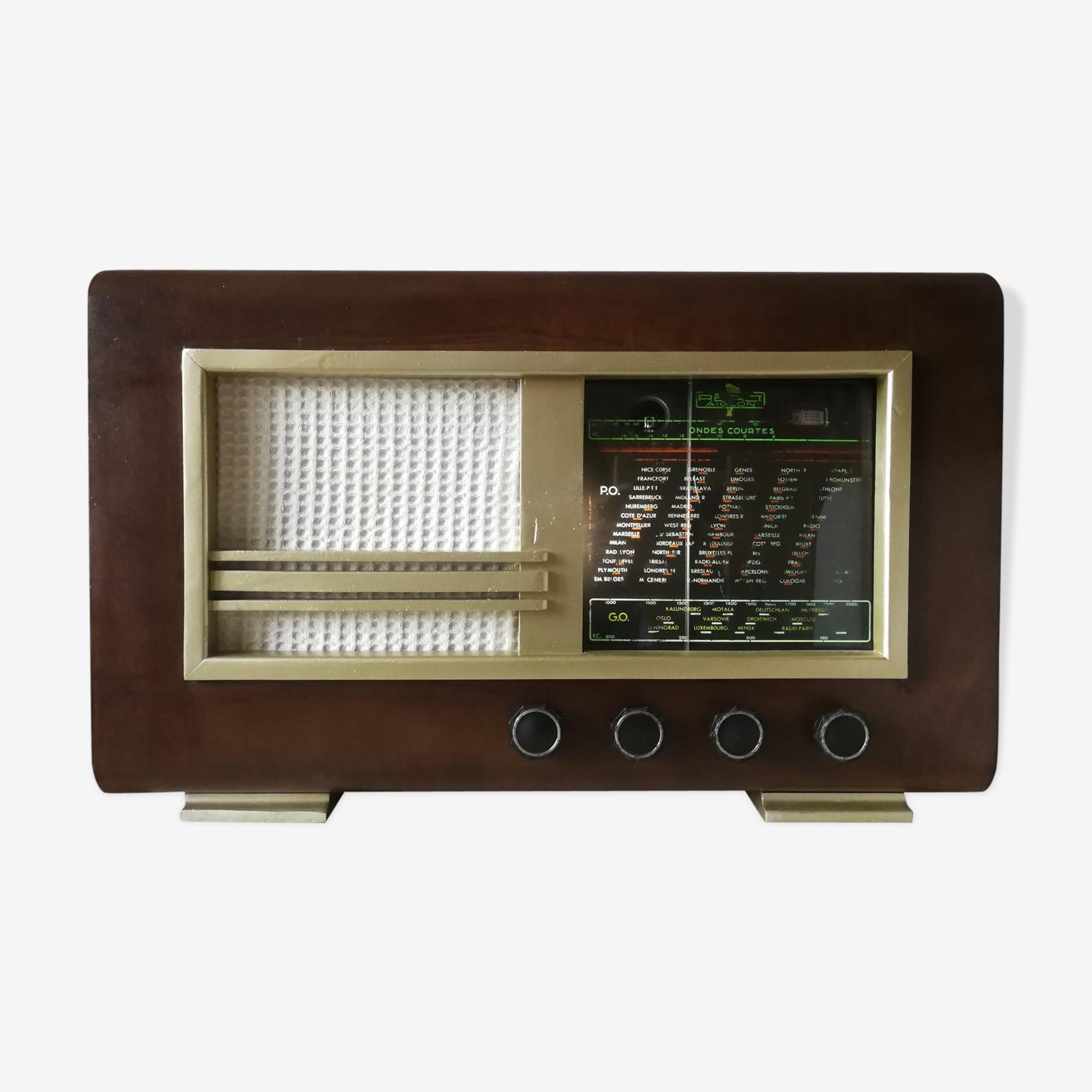 Poste de radio vintage de 1950 bluetooth