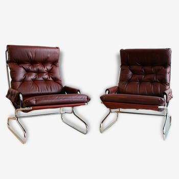 Pair of chairs 60s