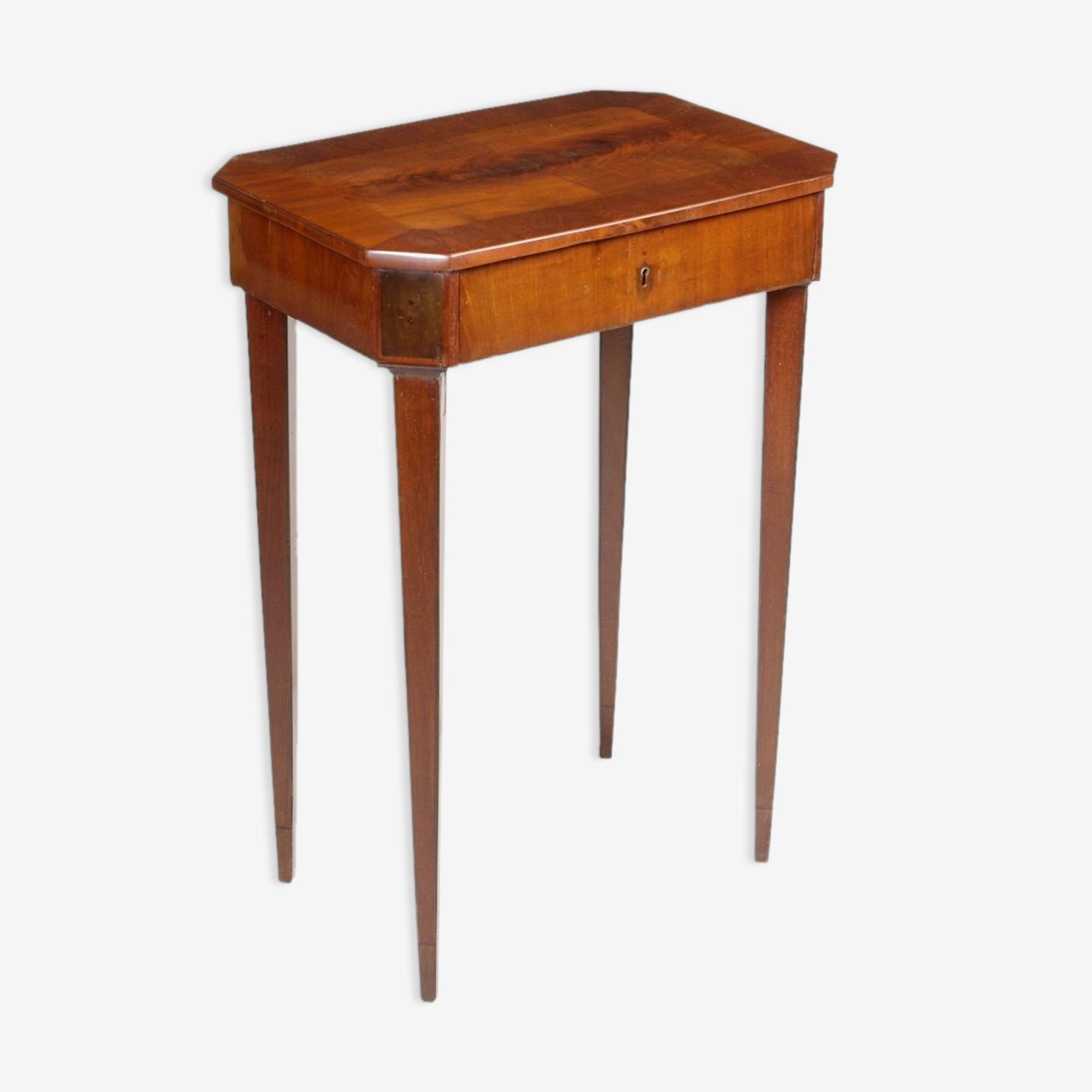 Table De Chevet Classique table de chevet classique - bois (matériau) - bois (couleur
