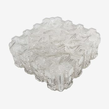 Ceiling glass moulded geometrical 60