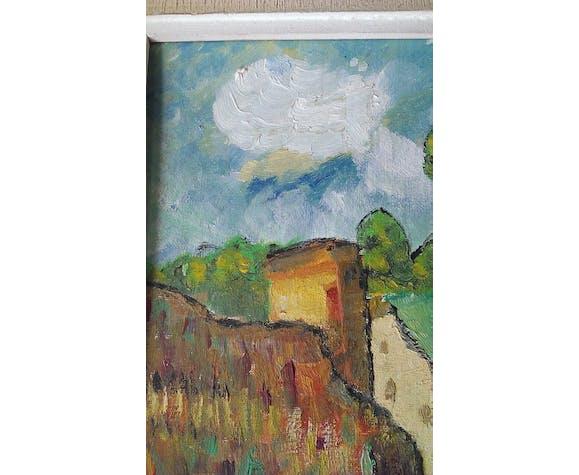 Paysage impressionniste MC Lombard