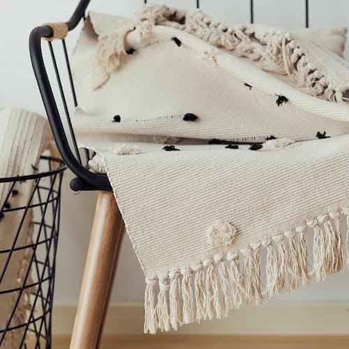 Tapis nordique coton 60x90 cm