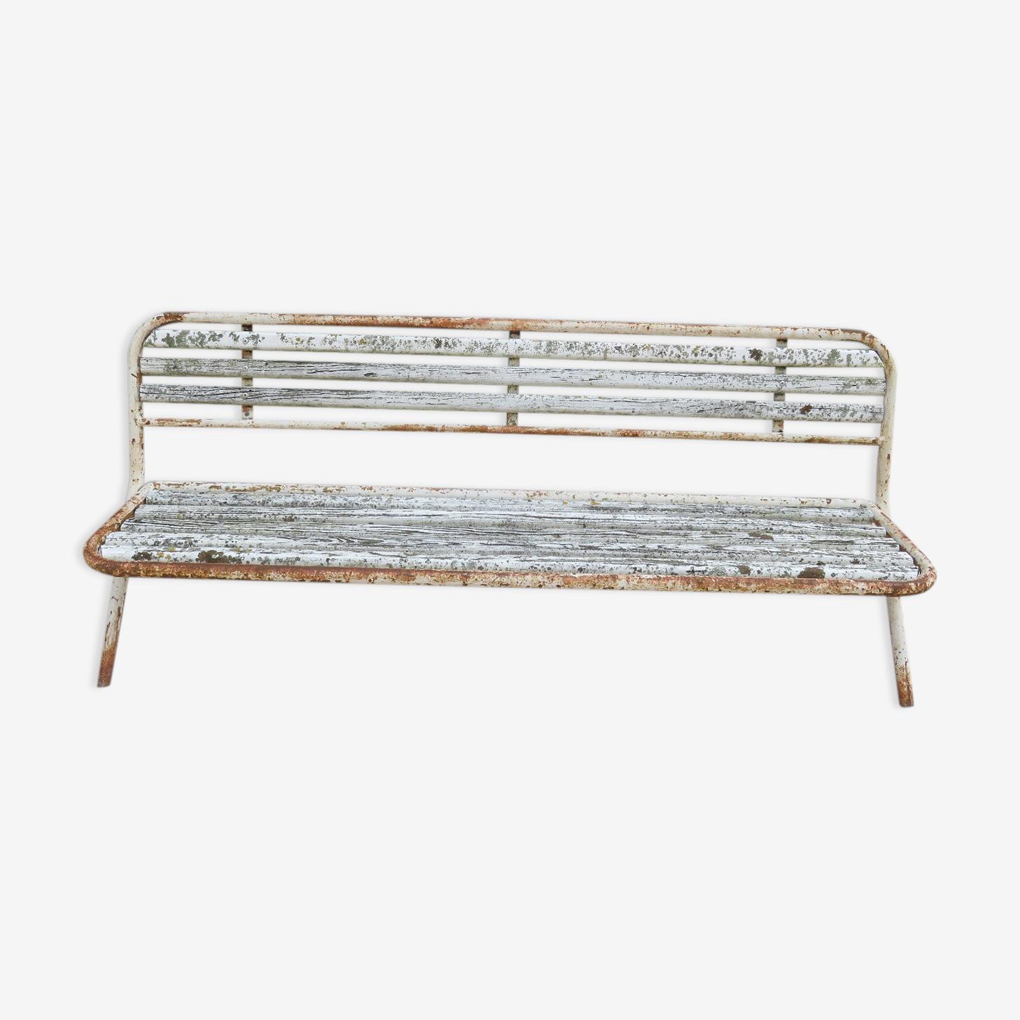 Folding garden bench