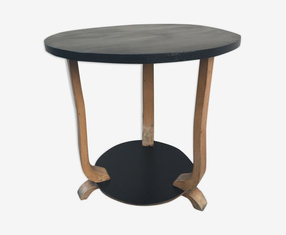 Table basse ronde 50's
