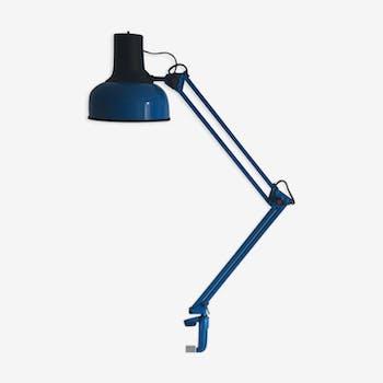 Lampe architecte lival P12 azur Finlande vintage 1970