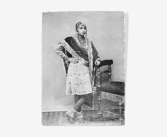 Danseuse du palais du maharaja Ram Singh II de Jaipur