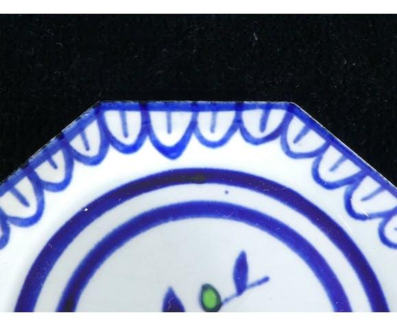 Coupelle en faiences de Gien peint a la main vintage 40-50