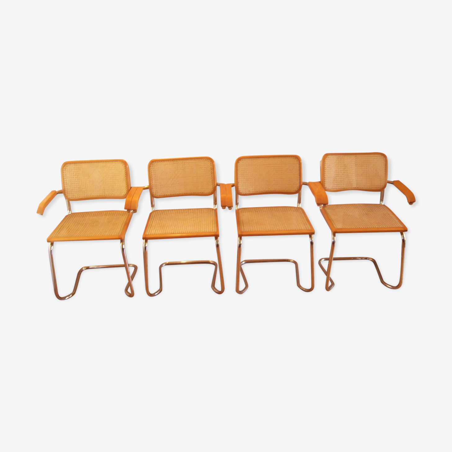 Set of 4 armchairs