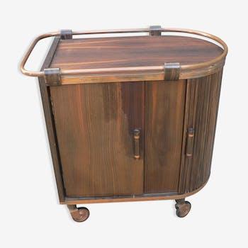 meuble bar des ann es 30 bois mat riau bois couleur art d co ccp12c1. Black Bedroom Furniture Sets. Home Design Ideas