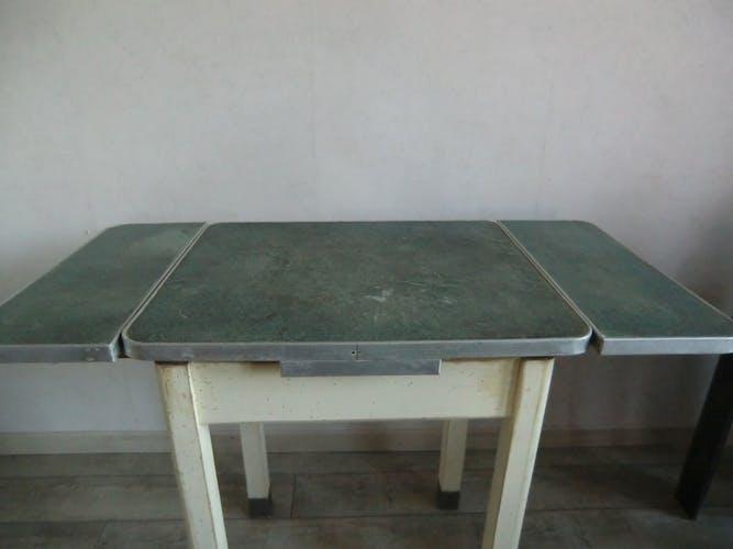 Table a rallonges années 50