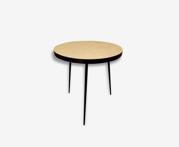 table ronde tripode annes 50