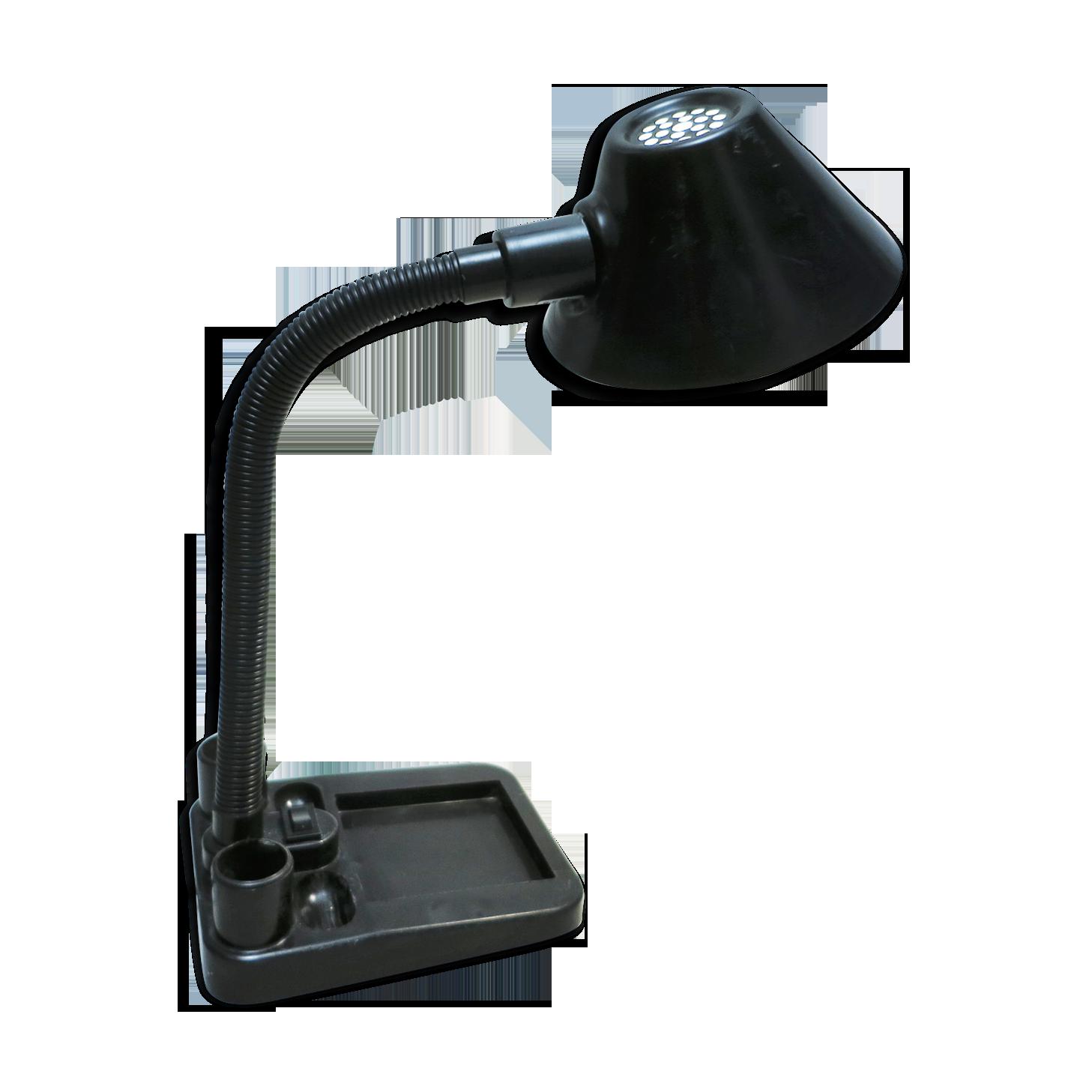 Lampe de bureau noire années métal noir vintage da jg c