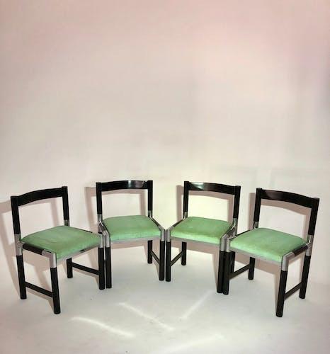 Suite de 4 chaises