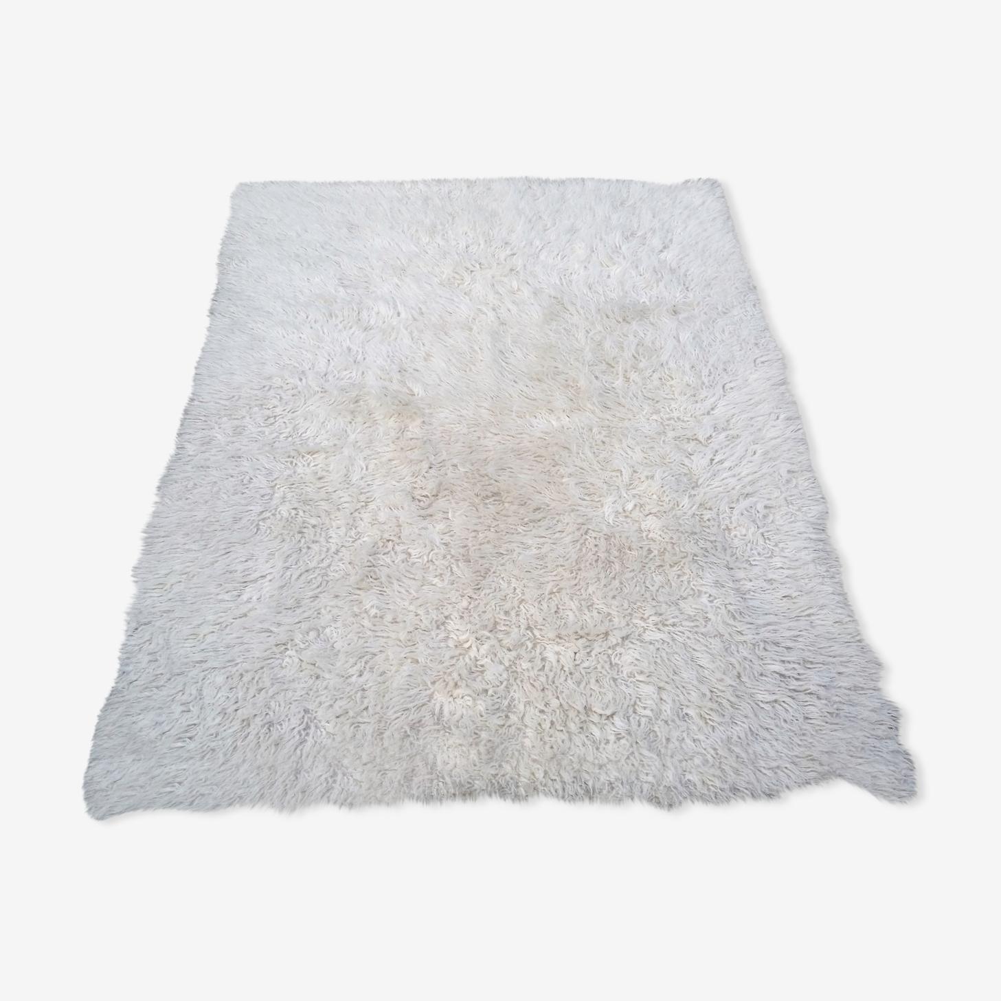 Tapis en laine des années 70 dimension 140x200cm