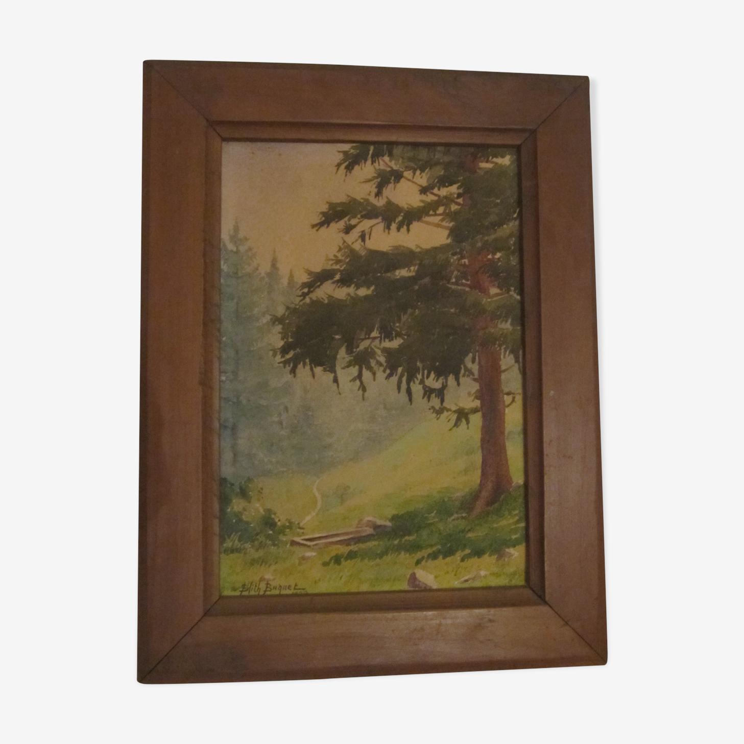 Edith Brady 1928 painting