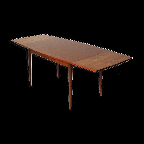 Table àmanger en teck extensible des années 60