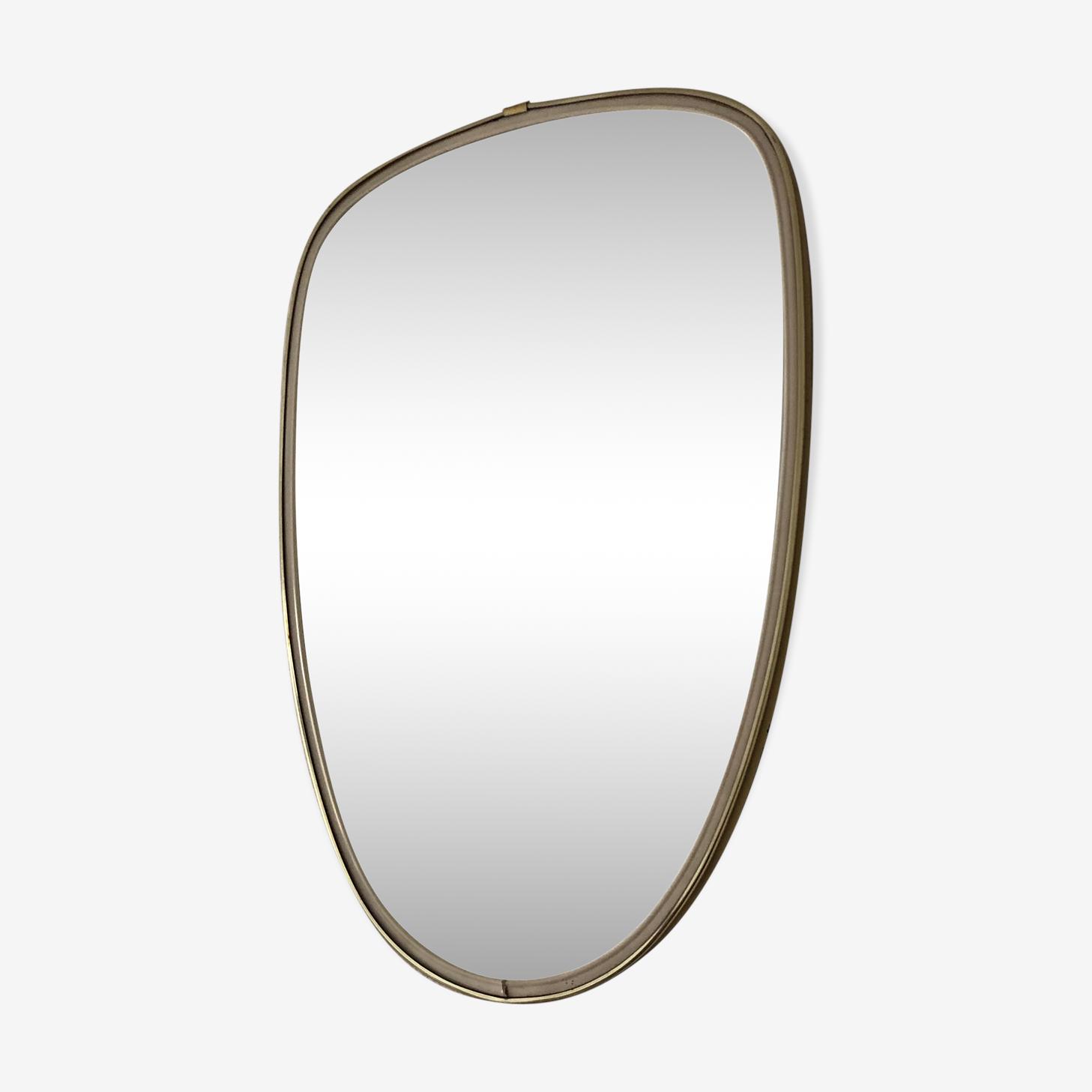Miroir rétroviseur 40x27cm vintage 1960