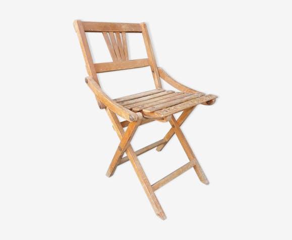 Chaise enfant pliable bois (Matériau) bois (Couleur