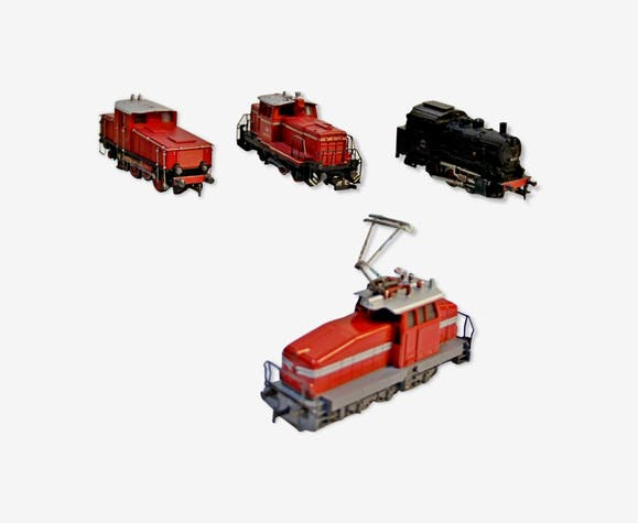 Lot de 4 locomotives marklin