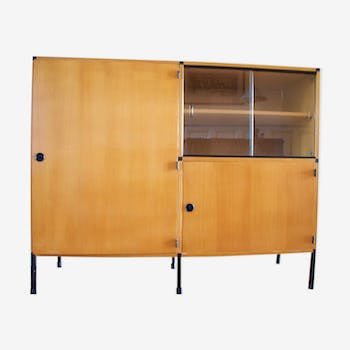 Biblioth que vintage d 39 occasion for Meuble bibliotheque modulaire
