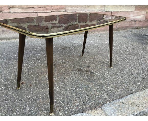 Table basse française 1970