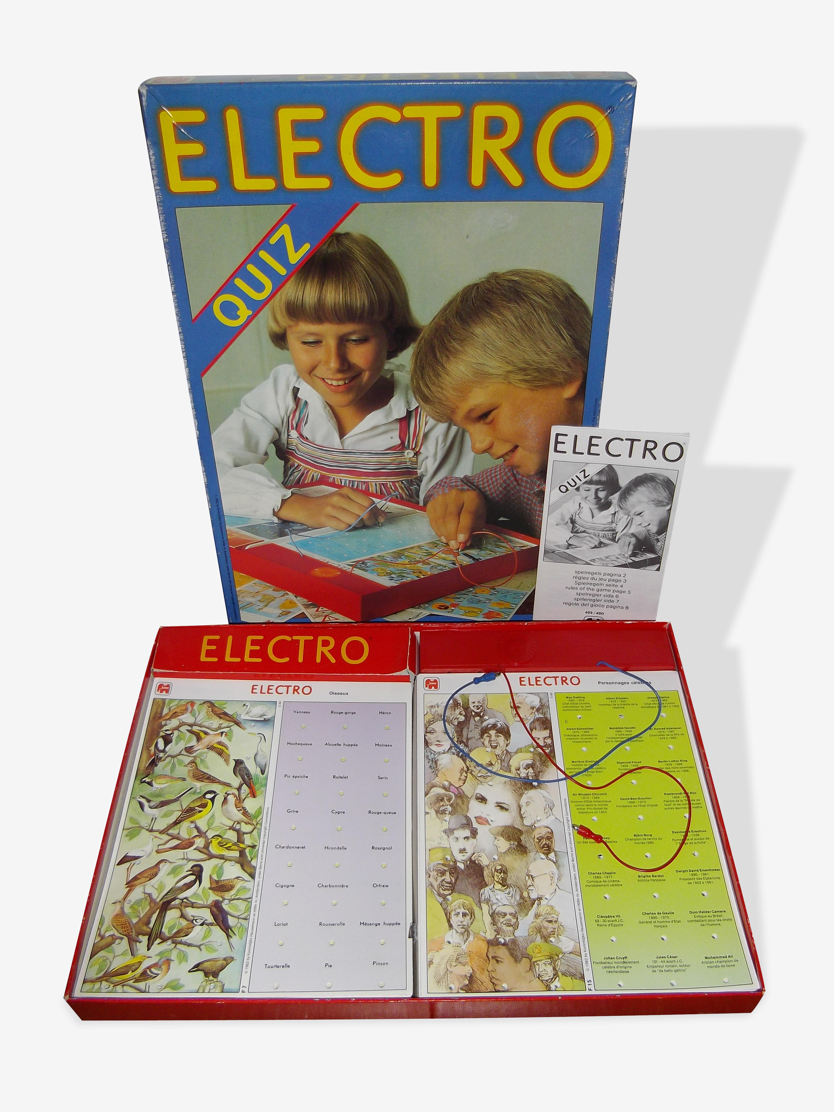Electro quiz Jumbo