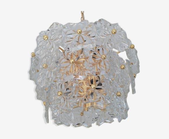 S Kinkeldey 1970 glass chandelier