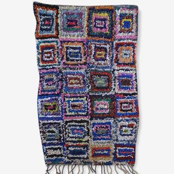 Carpet, boucherouite 105 x 160