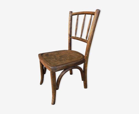ancienne chaise enfant bois courb bois mat riau bois couleur classique ydxpo3l. Black Bedroom Furniture Sets. Home Design Ideas