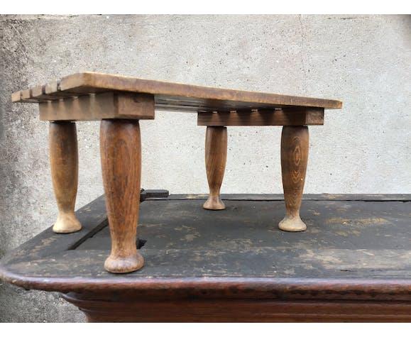 Repose pieds rustique vintage