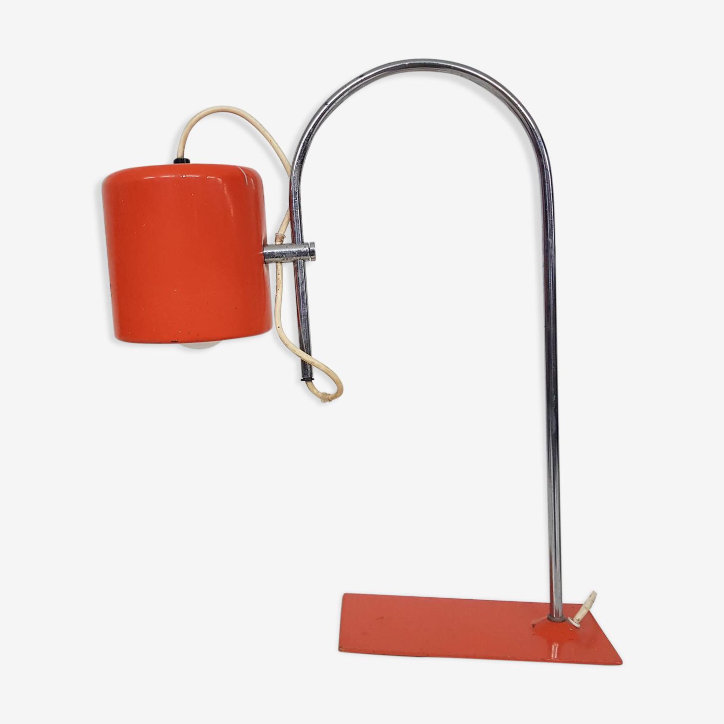 Lampe orange Pays-bas 1960 's