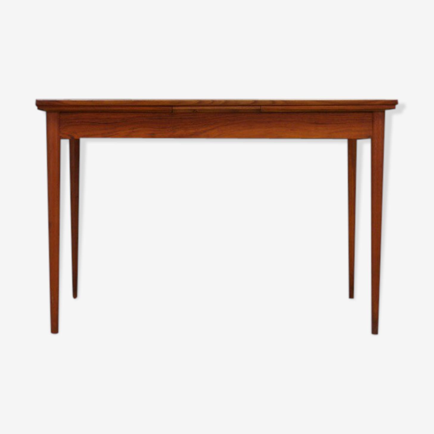 Table rétro design danois en teck classique
