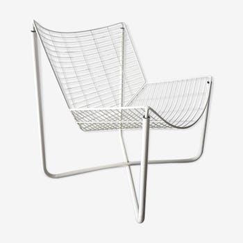 Jarpen metal armchair by Niels Gammelgaard