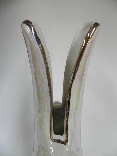 Vase avec deux côtés en ceramiques