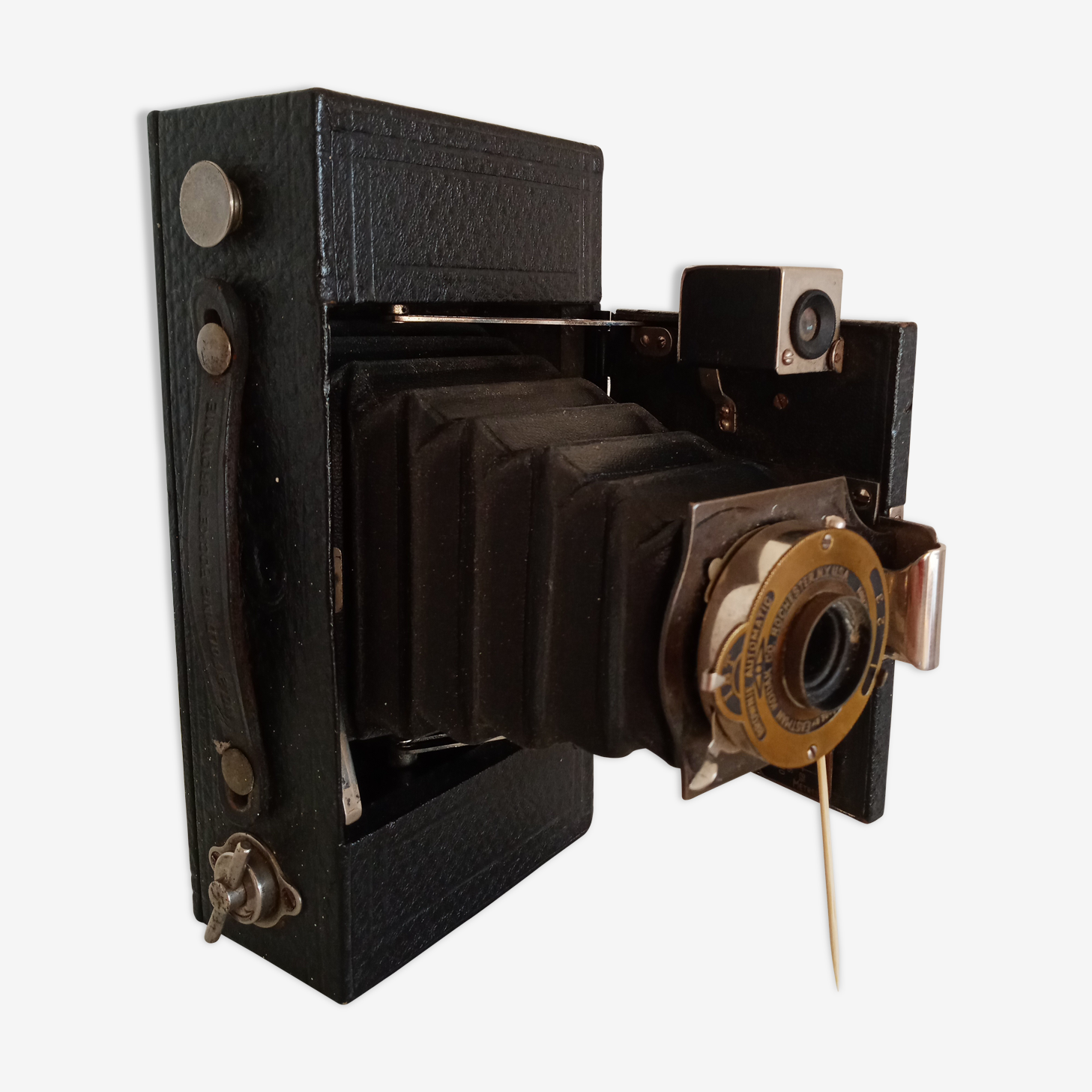 Appareil Kodak 1909 Folding Pocket Brownie  made in USA