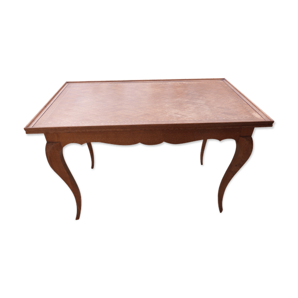 Marked Antique Coffee Table Wood Wooden Worn Classic 6c8qyex2