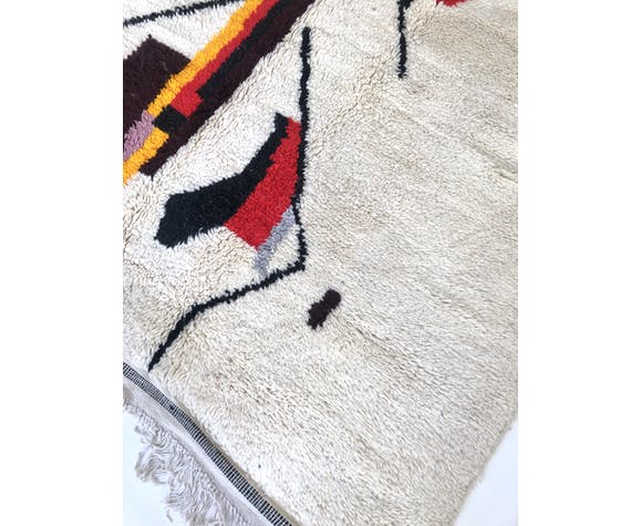 Tapis berbère marocain Azilal 2,36x1,55m