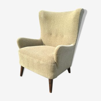 Wingback armchair year 50