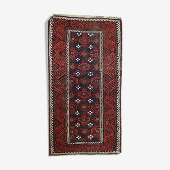Former carpet Afghan Baluch done hand 100x184cm 1920 s