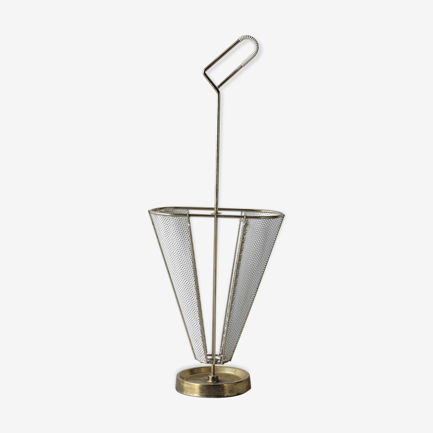 Umbrella door brass and rigitulle-years 50