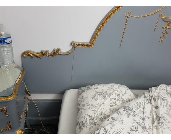 Tête de lit style Louis XV