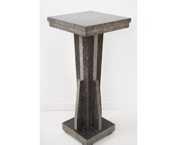 Table d'appoint en onyx