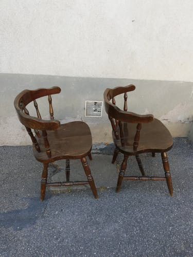 Chaises western