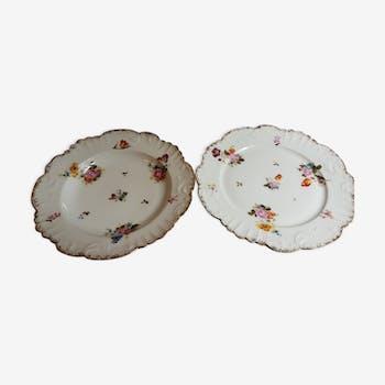 Service de table ancien de 18 pièces en porcelaine de Limoge