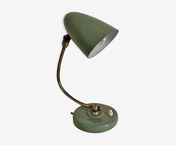 Lampe vintage 50 en métal