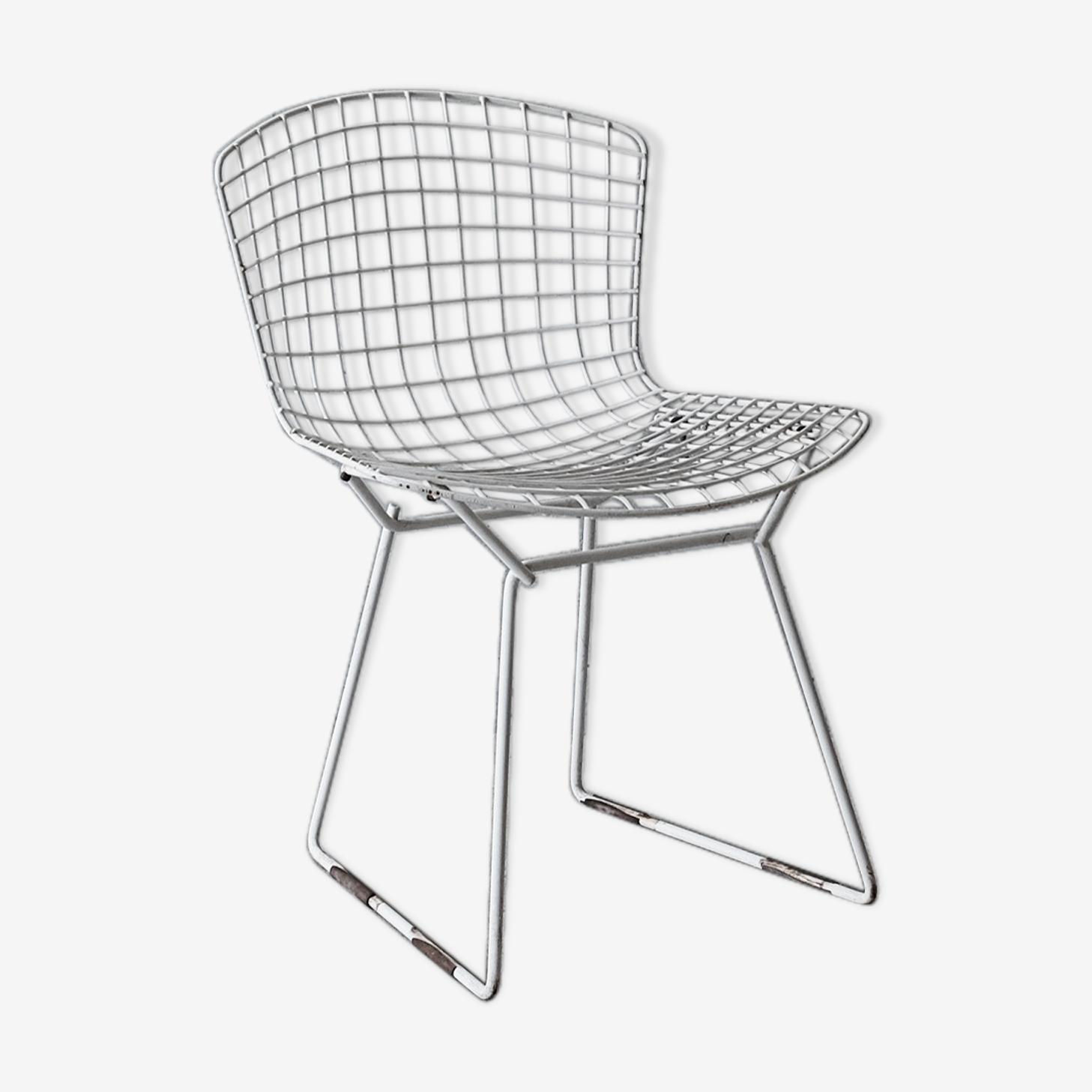 Chaise Wire par Harry Bertoia pour  Knoll années 60